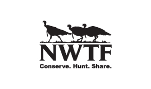 Andy & TJ Married with mics NWTF Logo